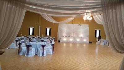 Simple Elegance Backdrop - LVIV Hall