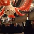 Ceiling Swags with Antique Lighting 2