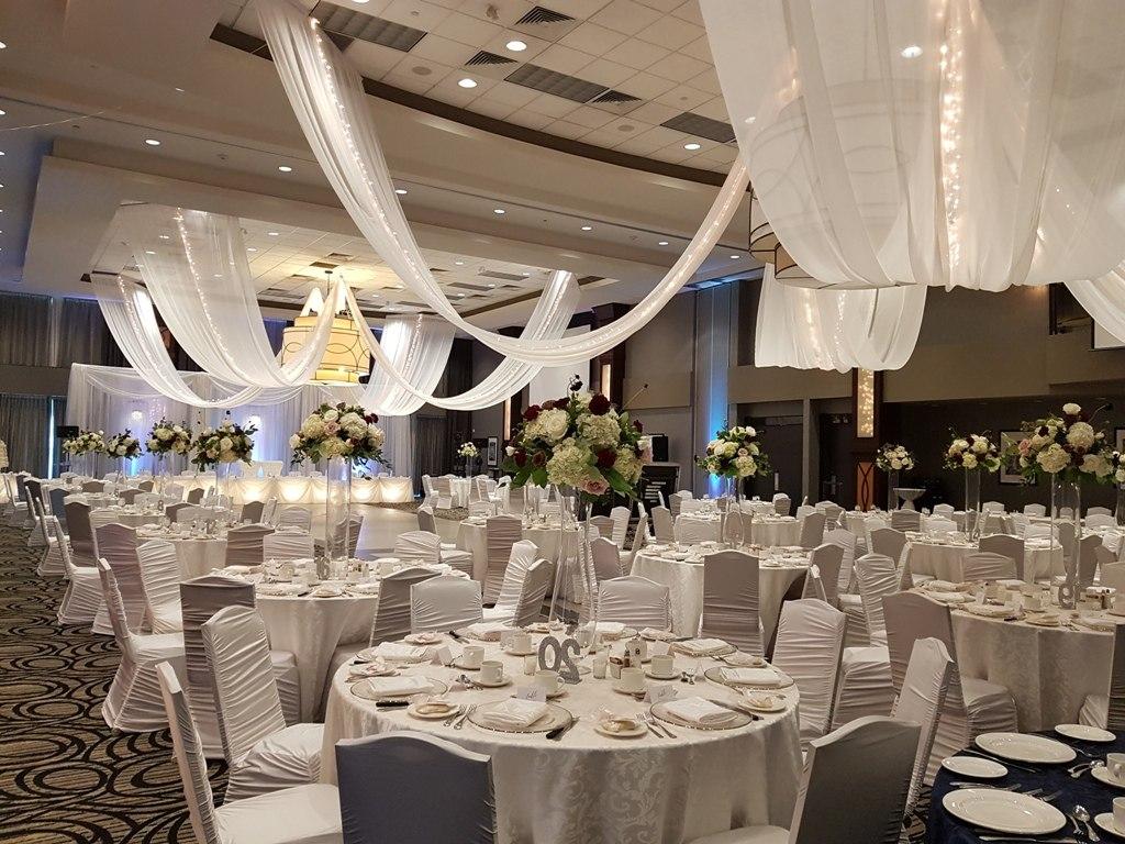 Sheer Swags Bayly Ballroom, Ajax CC