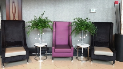 Entrance Reception Area @ Gala