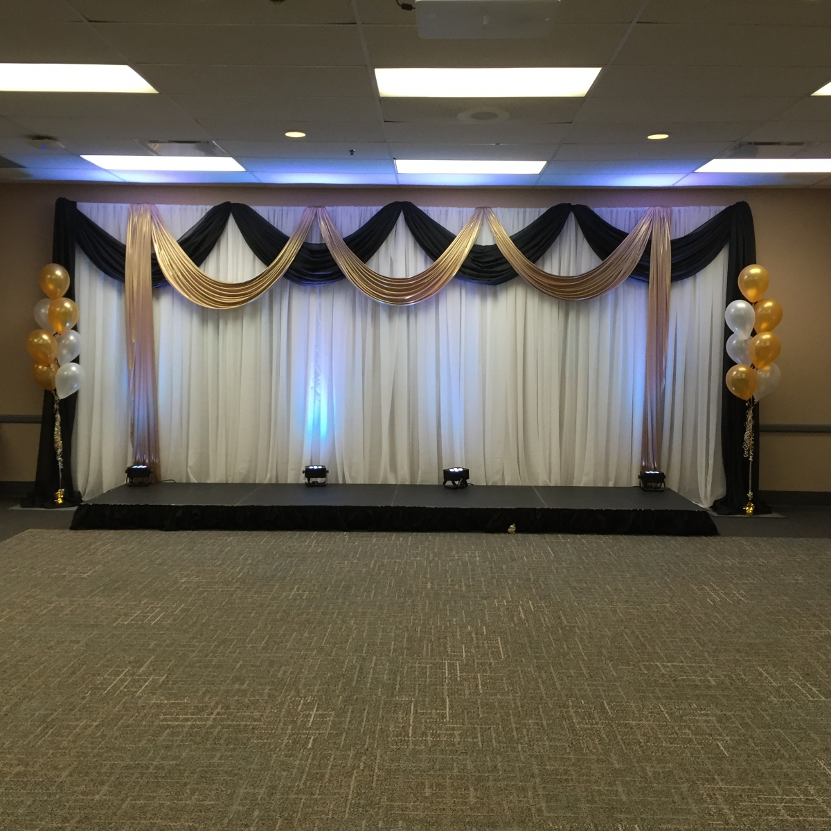 50th Anniversary Corporate Photo Backdrop