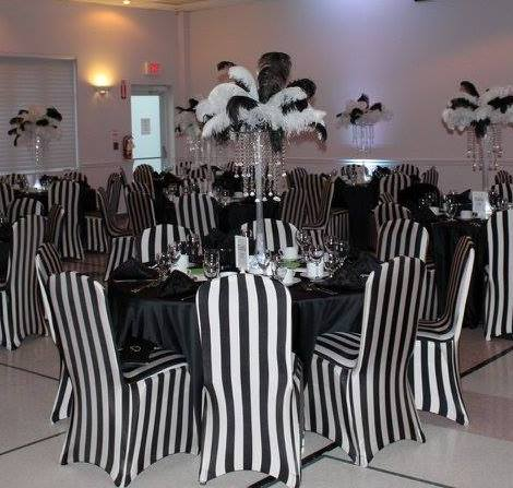 Black & White Theme Gala