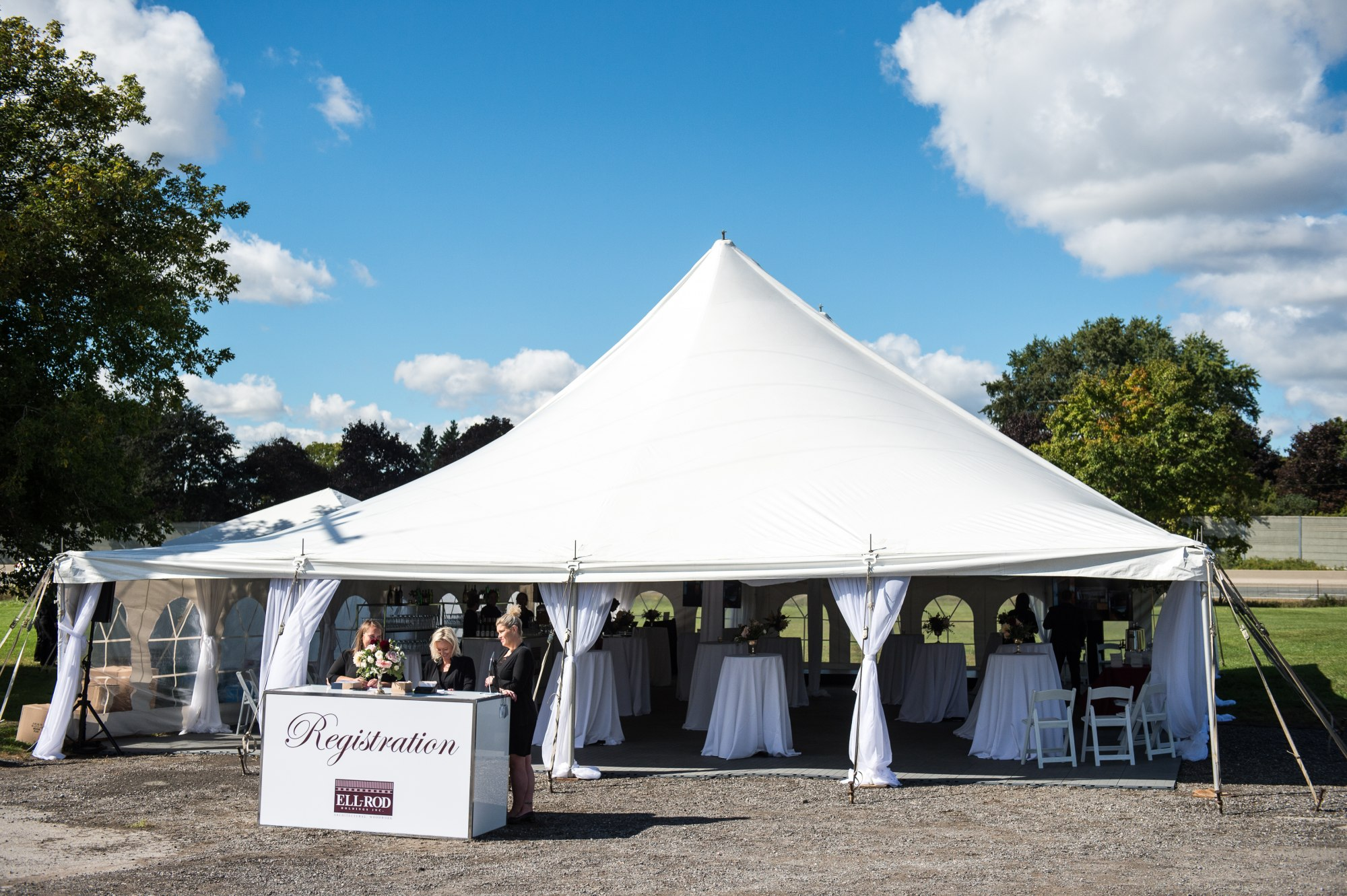 Corporate Tent Event