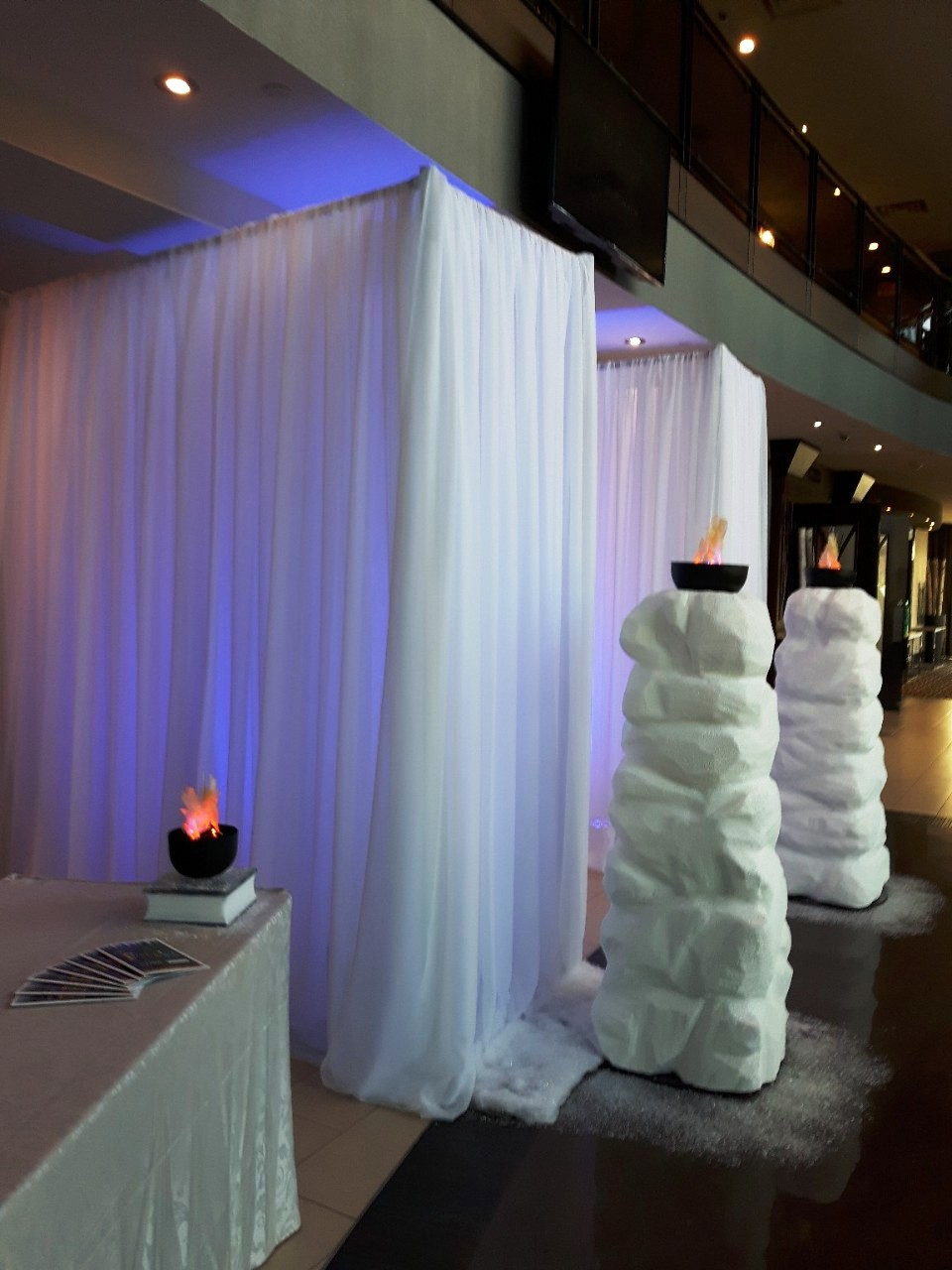 Fire & Ice Gala Entranceway, Ajax Convention Centre