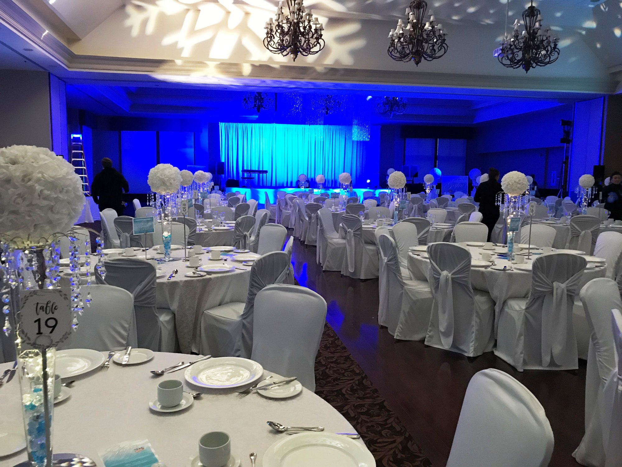 Winter Wonderland Gala Decor