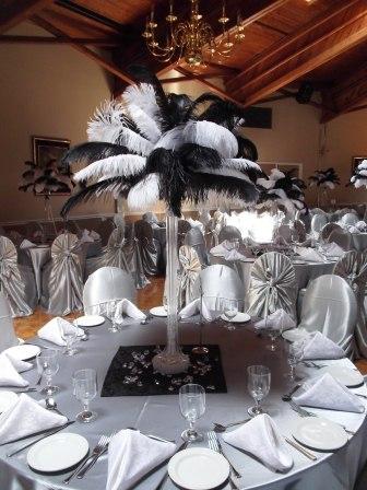 Tablescape in Silver-White-Black 2