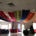 Super Heroes Theme Event-Ceiling Decor