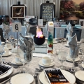 Fire & Ice Theme Tablescape