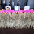Thatch Skirting for table decor