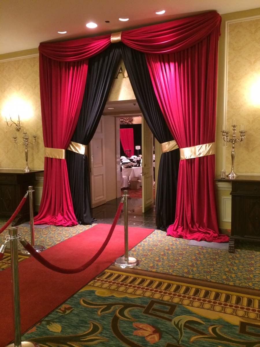 Red Carpet, Rope & Stanchions for Rent