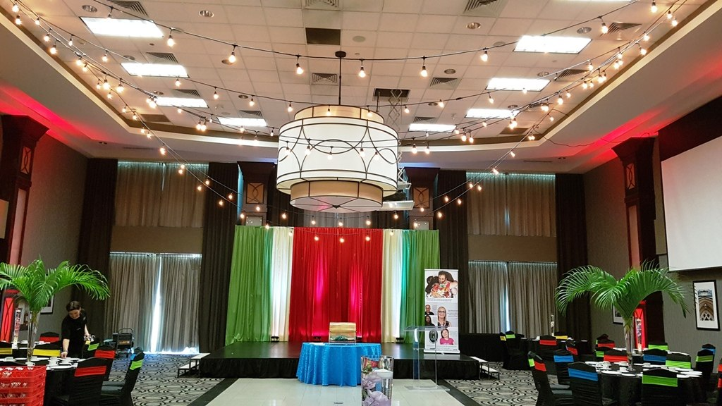 """Havana Nights"" Gala Decor"