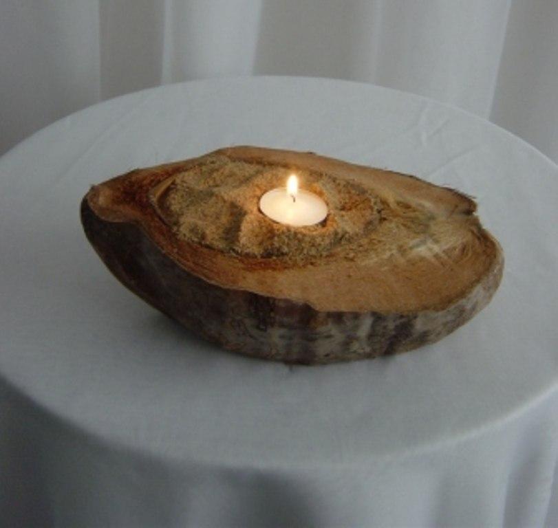Coconut Shell Votives