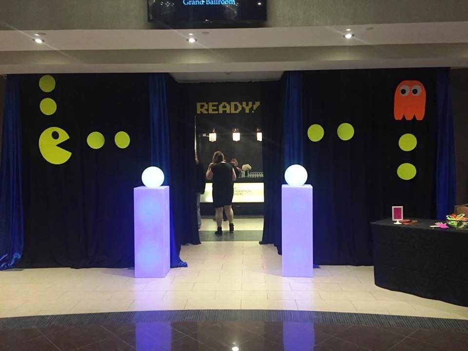 Pacman Entranceway