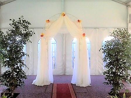 Ivory Wedding Archway