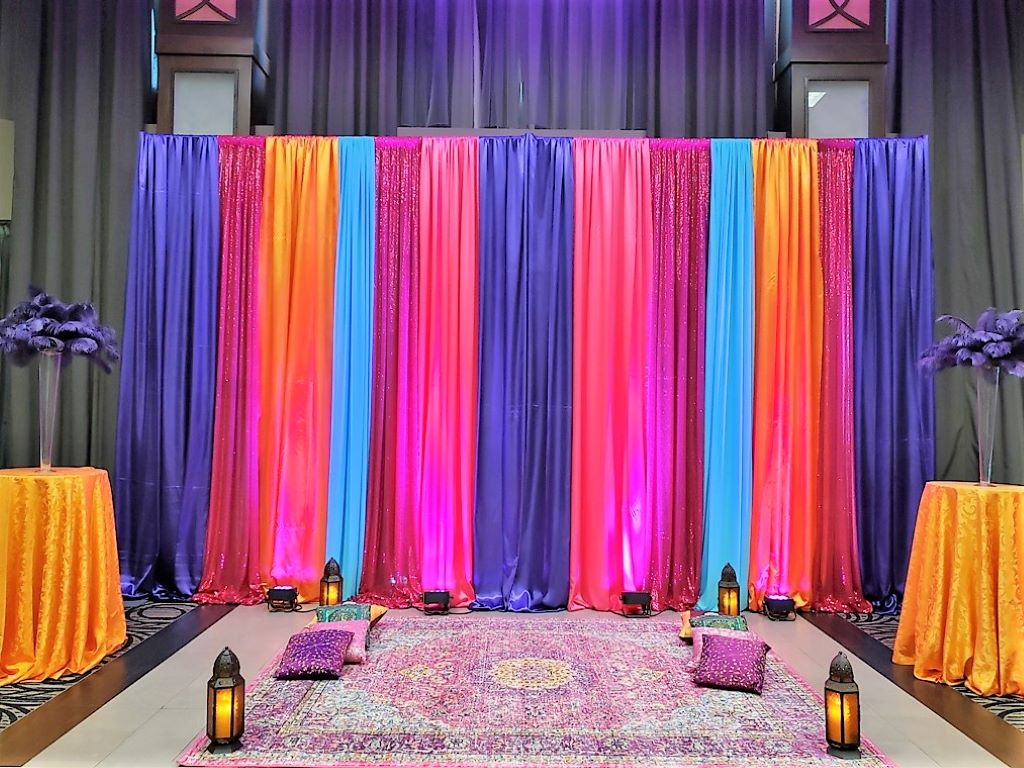 Multi Drape Backdrop Custom