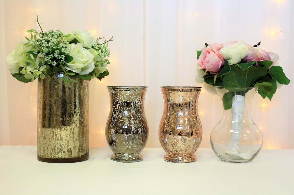 Bouquet Vases for your Head Table