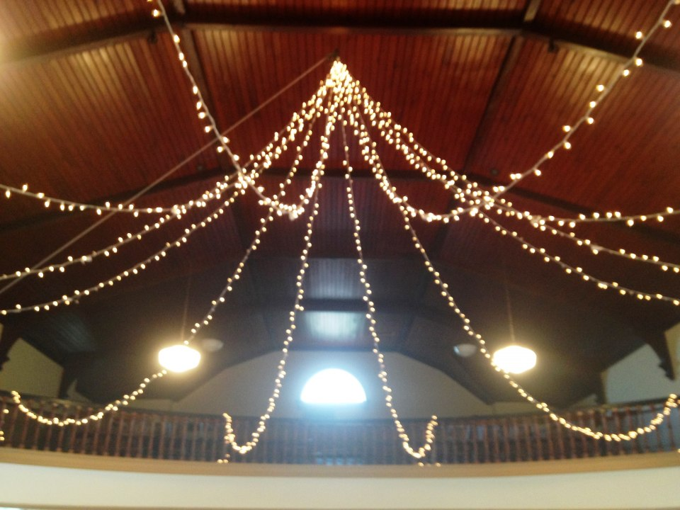 Starry Night Ceiling, Orono Town Hall