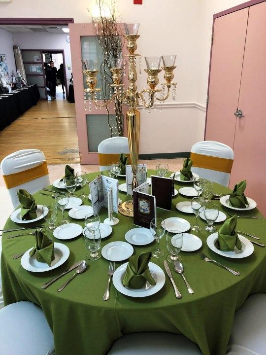 Garden Theme Tablescape