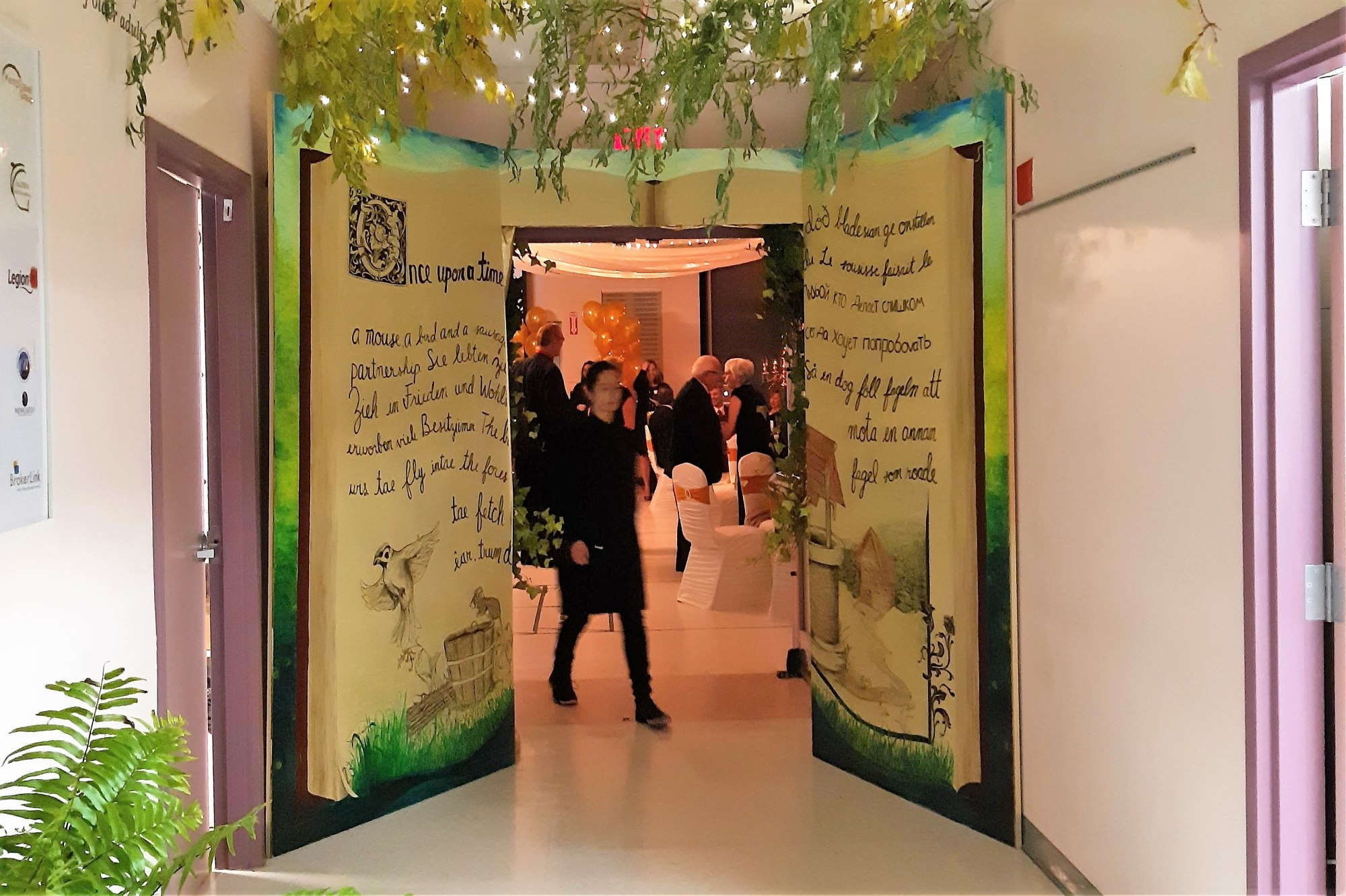 Story Book Entrance Way