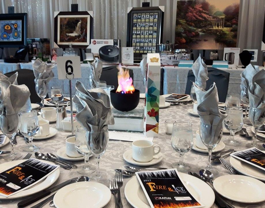 Fire Bowl Centerpieces for rent