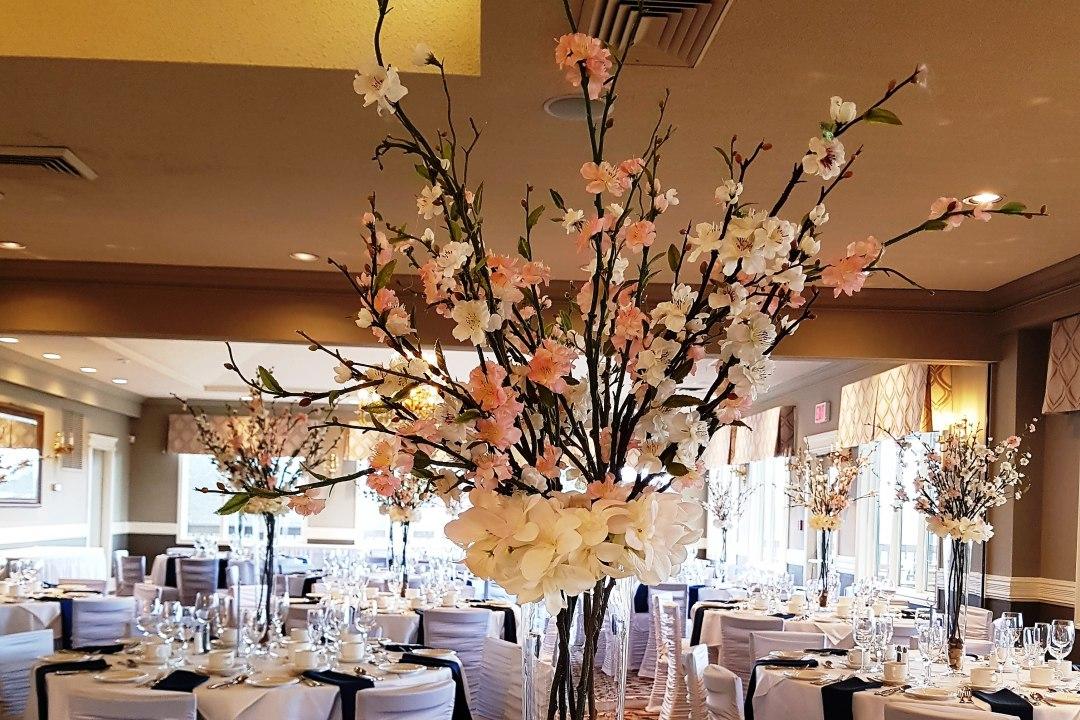 Cherry Blossom Centrepieces Silk