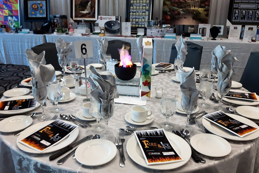 Fire & Ice Centrepieces
