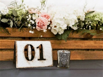 Industrial Metal Table Numbers