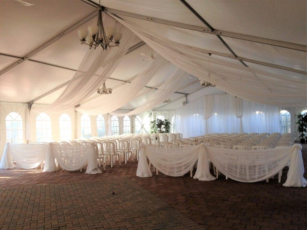 Ceremony Tent Decor