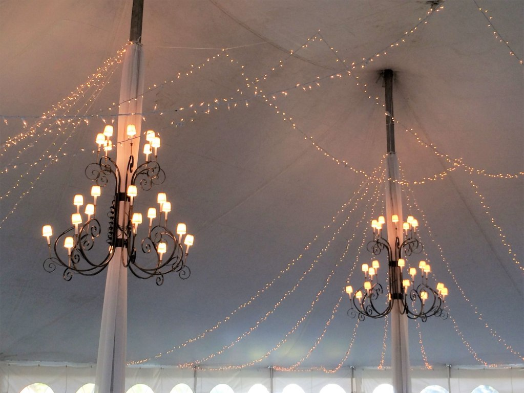 Starry Night Ceiling & 6' Wrought Iron Chandeliers