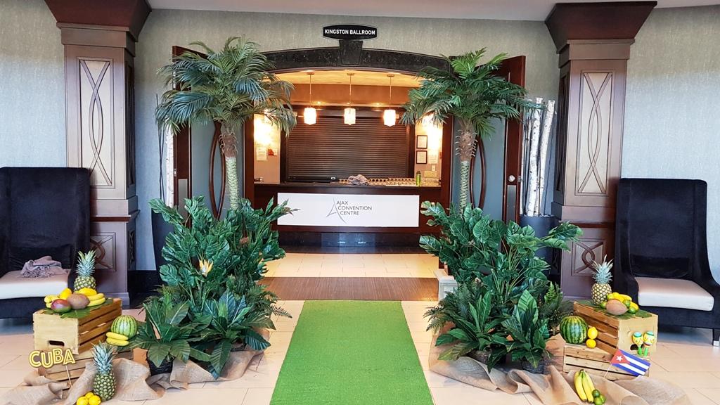 Tropical Entranceway