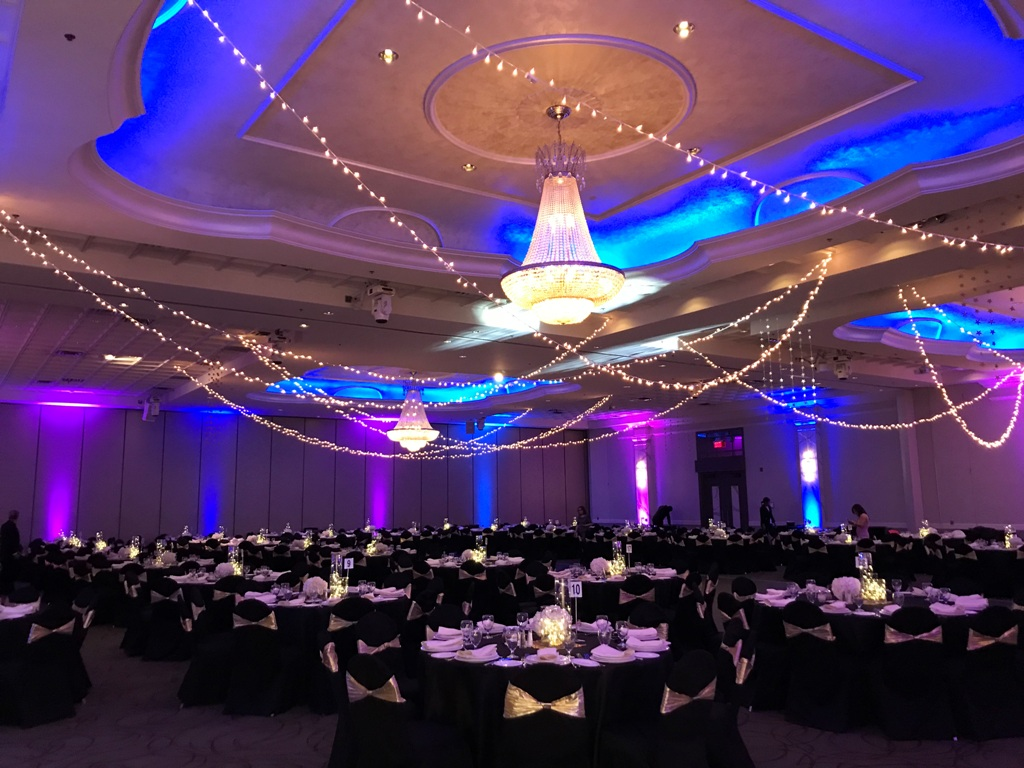 Starry Night & LED Room Uplighting-3